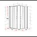 1200 x 1200mm Sliding Door Nano Safety Glass Shower Screen By Della Francesca