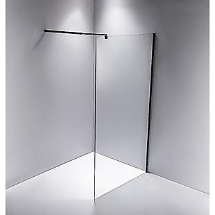 1100 x 2000mm Frameless 10mm Safety Glass Shower Screen