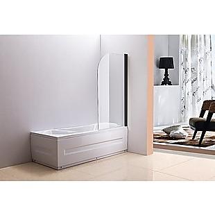 180° Pivot Door 6mm Safety Glass Bath Shower Screen 800x1400mm By Della Francesca