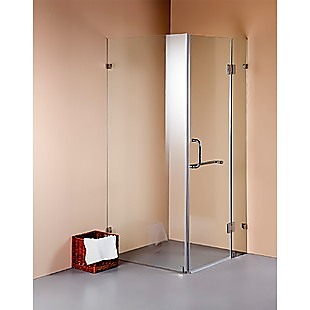 900 x 100mm Frameless 10mm Glass Shower Screen By Della Francesca