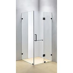 1100 x 900mm Frameless 10mm Glass Shower Screen By Della Francesca
