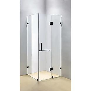 1100 x 700mm Frameless 10mm Glass Shower Screen By Della Francesca