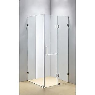 1200 x 1000mm Frameless 10mm Glass Shower Screen By Della Francesca