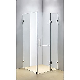 1100 x 1000mm Frameless 10mm Glass Shower Screen By Della Francesca