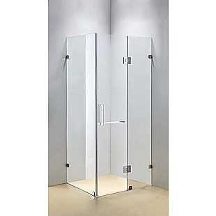 1200 x 800mm Frameless 10mm Glass Shower Screen By Della Francesca