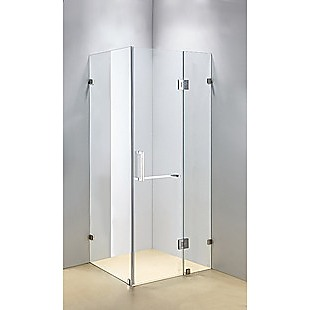 1100 x 800mm Frameless 10mm Glass Shower Screen By Della Francesca