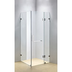 900 x 800mm Frameless 10mm Glass Shower Screen By Della Francesca