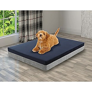 Memory Foam Dog Bed 15CM Thick Large Orthopedic Dog Pet Beds Waterproof Big