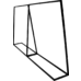 Commercial Clothing Garment Rack Retail Shop Black