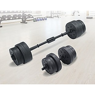 20kg Dumbbell Set Home Gym Fitness Exercise Weights Bar Plate