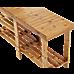 Bamboo Shoe Rack Wooden Bench Storage Organiser Cabinet Holder Stool