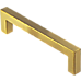 15x Brushed Brass Drawer Pulls Kitchen Cabinet Handles - Gold Finish 192mm