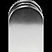 Brushed Nickel Bracket for Glass Balustrade Panels - Set of 2