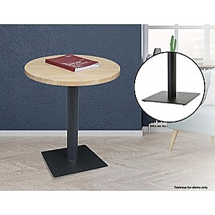 Steel Square 45cm Restaurant Cafe Office Table Base Leg