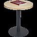 Steel Round 45cm Restaurant Cafe Office Table Base Leg
