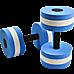 2x Water Aerobics Dumbbell EVA Aquatic Barbell Aqua Fitness
