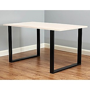 Square Shaped Table Bench Desk Legs Retro Industrial Design Fully Welded