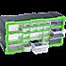 22 Multi Drawer Parts Storage Cabinet Unit Organiser Home Garage Tool Box