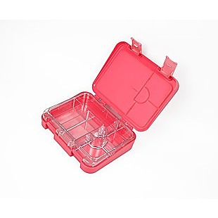 Bento Lunch Box Kids Leakproof Food Container School Picnic - Pink