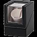 Automatic Watch Winder Display Box Case Motor Rotation Storage PU Leather