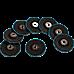 50x Pack Premium Zirconia Flap Disc Sanding Grinding 115mm 4.5