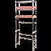 Storage Shelves Shelf 3 Tier Rack Portable Laundry Stand Unit Organiser