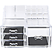 11 Drawers Clear Acrylic Tower Organiser Cosmetic jewellery Luxury Storage Cabinet