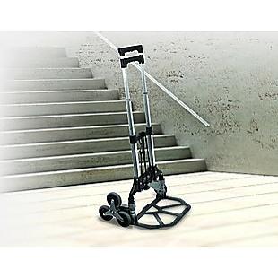 Stair Climbing Trolley 6 Wheels Aluminium Folding Hand Cart Climb Steps