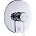 Shower Bath Mixer Tap Bathroom WATERMARK Approved - Chrome