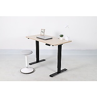 Palermo Standing Desk Sit Stand Height Adjustable Motorised 120cm Table Dual Motor