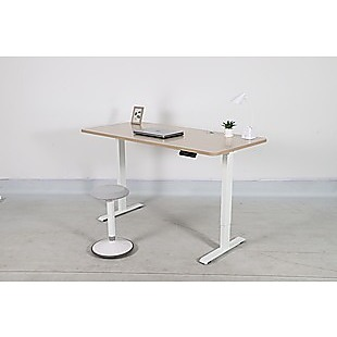 Palermo Standing Desk Sit Stand Height Adjustable Motorised 160cm Table Dual Motor