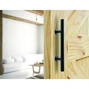 Carbon Steel Door Handle & Flush Pull Wood Door Gate Hardware 12