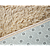 230x160cm Floor Rugs Large Shaggy Rug Area Carpet Bedroom Living Room Mat - Beige