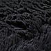 230x160cm Floor Rugs Large Shaggy Rug Area Carpet Bedroom Living Room Mat - Black