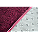 230x200cm Floor Rugs Large Shaggy Rug Area Carpet Bedroom Living Room Mat - Burgundy