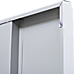 2-Door Vertical Locker for Office Gym Shed School Home Storage
