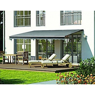 5.0x2.5m Automatic Outdoor Motorised Folding Arm Awning