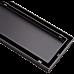 900mm Tile Insert Bathroom Shower Black Grate Drain w/Centre outlet Floor Waste