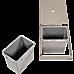 2x 15L Pull Out Trash Bin Dual Kitchen Garbage Waste Basket Cabinet Bin