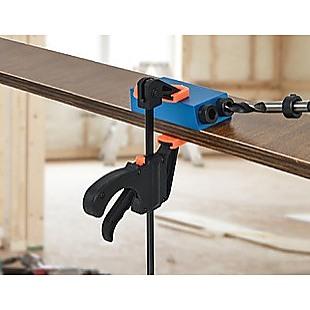 14X Pocket Hole Jig Kit Woodworking Drill Hole Locator Craft Carpenters + F Clip