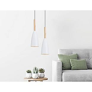 White Pendant Lighting Kitchen Lamp Modern Pendant Light Bar Wood Ceiling Lights