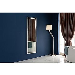 LED Full Length Mirror Standing Floor Makeup Wall Light Mirror 1.6M