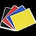 Martial Arts Supply Rebreakable Board Taekwondo, MMA, Karate-Set: Yellow, Blue, Red & Black
