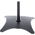 2pcs Speaker Stands Stand Rear Surround Sound Satellite Speakers Adjustable