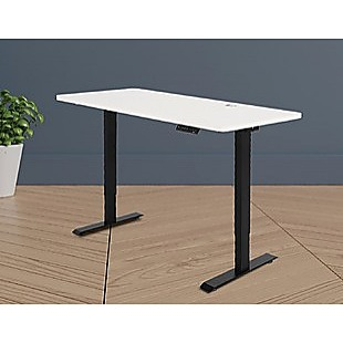 Palermo Standing Desk Sit Stand Height Adjustable Motorised 140cm Table Dual Motor