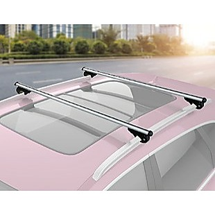 Universal Car Top Roof Rail Rack Cross Bar Aluminium Lockable 1350MM