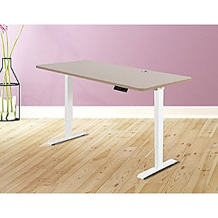 Palermo Standing Desk Sit Stand Height Adjustable Motorised 160cm Table Dual Motor