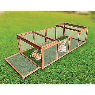 Chicken coop LARGE Run Guinea Pig Cage Villa Extension Rabbit hutch house pen