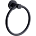 Classic Towel Bar Rail Ring Matte Black Finish