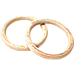 32mm Wooden Gymnastic Rings Olympic Gym Rings Strength Training
